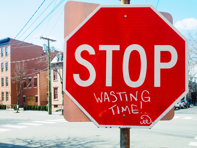 Verschwende (nicht) deine Zeit!