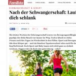 """Mein Blog gefeatured auf Familista – """"Lauf dich schlank nach der Schwangerschaft"""""""