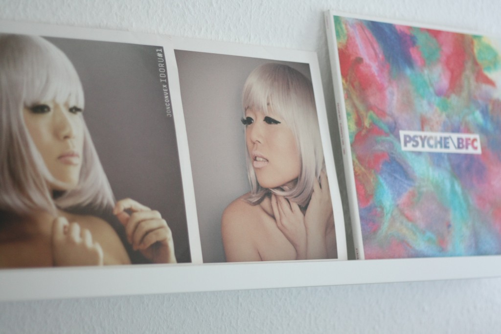 deko mit vinylplatten
