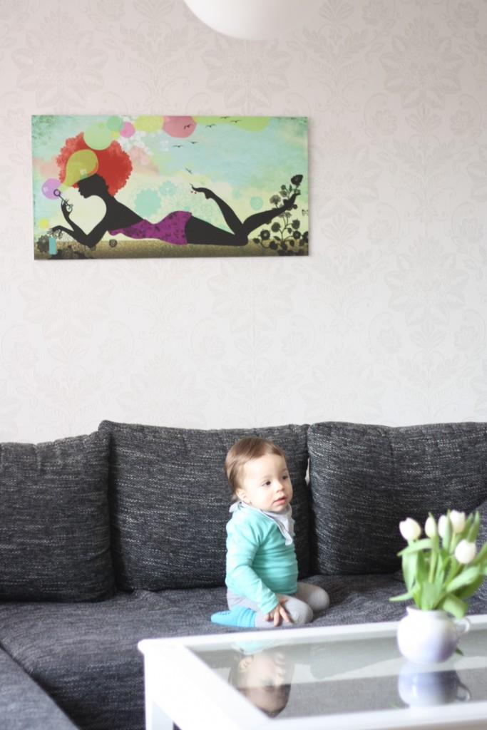 wandbild wohnzimmer