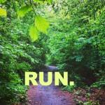 Laufen macht schön.