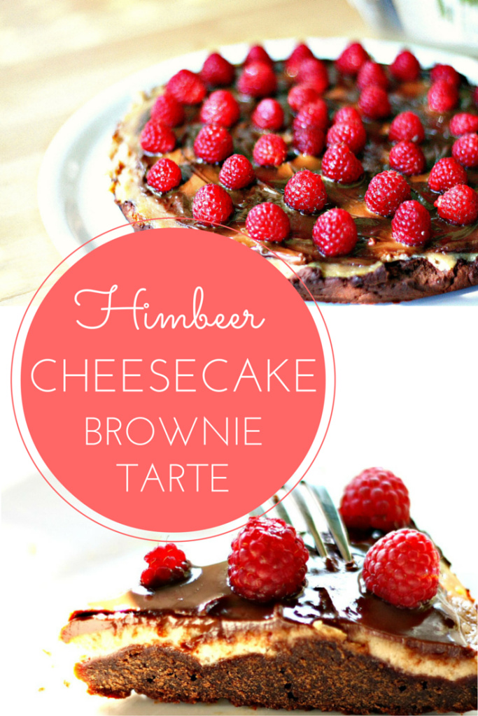 Das Beste von Allem: Himbeer-Cheesecake Brownie Tarte | One Year Of Sunday - A Food & Lifestyleblog