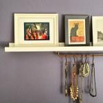 Ikea Hack: Aufhängung für Schmuck und Tücher