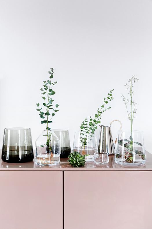dekoriere mit pflanzen