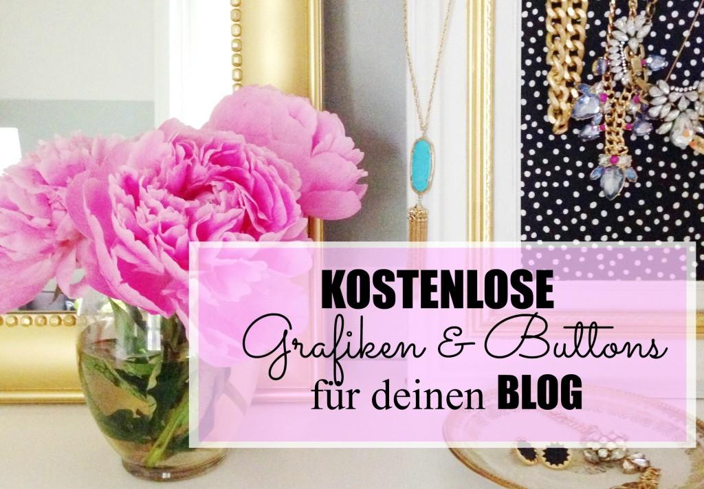 Kostenlose Grafiken & Buttons für deinen Blog