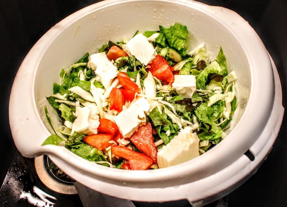 salat für wrap