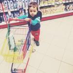 Das Kleinkind und der Supermarkt