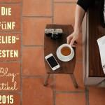 Die 5 beliebtesten Blogartikel in diesem Jahr