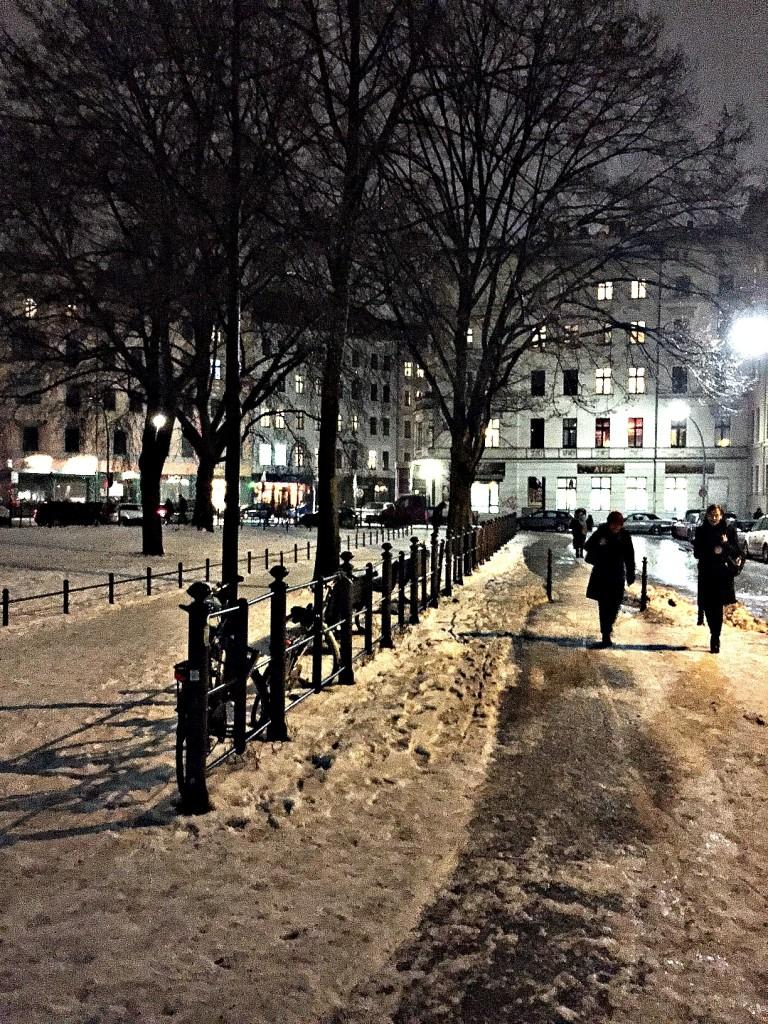 berlin winternacht