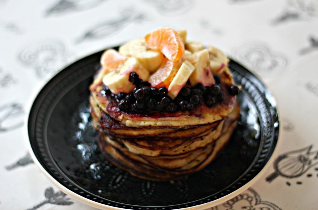 rezept pancakes mit ricotta