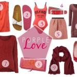 Purple Love – Inspirationen für Frühlingsmode