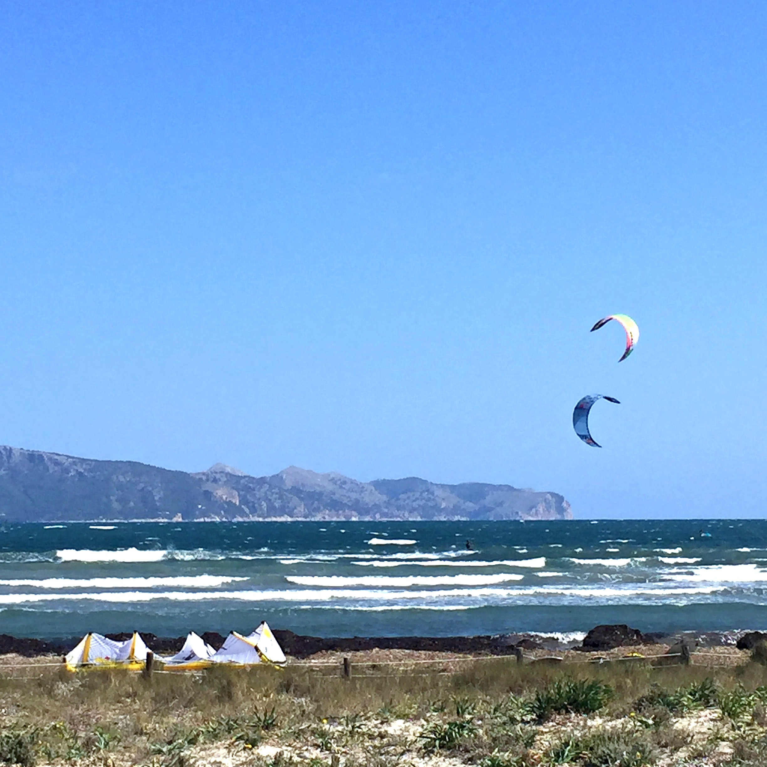 mallorca kite surfing