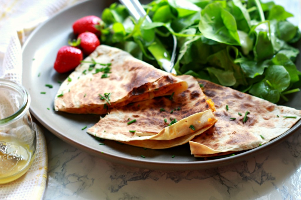 Neues Lieblingsabendessen: Süßkartoffel-Quesadillas