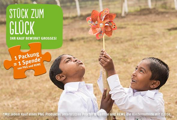 Stück zum Glück – ein Projekt von P&G in Zusammenarbeit mit REWE (sponsored)